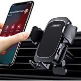 【Easy Clamp & One-Hand Operation】 Air Vent Phone Mount, One Touch Car Phone Holder Mount Suitable for 99% Car A/C Vent fit wi