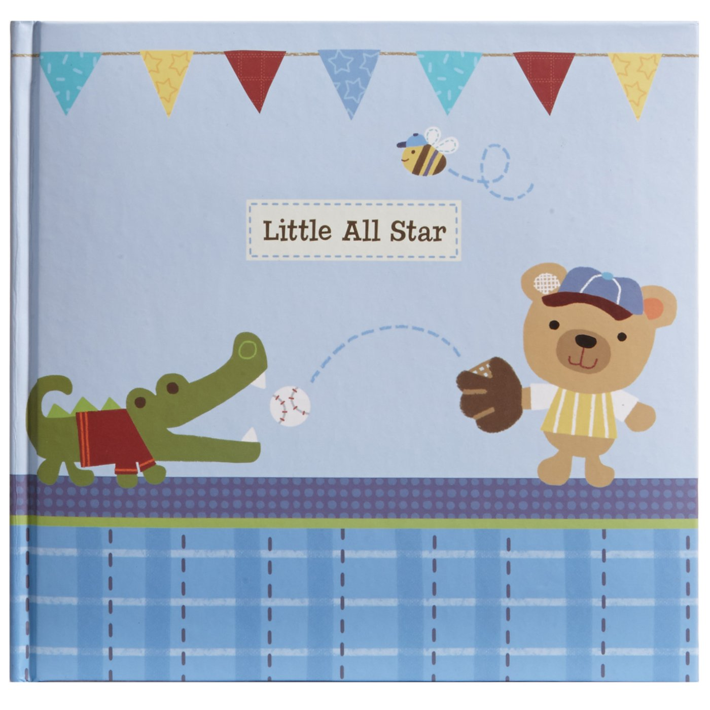 C.R. Gibson Stepping Stones Recordable Photo Album, Little All Blue Star CR Gibson MBPR1-12024