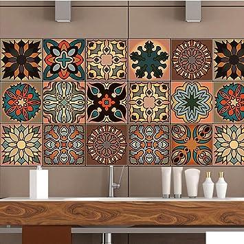20cm*100cm*4pcs Fliesen Aufkleber Sticker Folie Selbstklebend Für Küche Und  Bad Tile Style