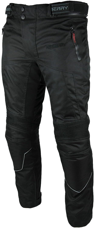 HEYBERRY Motorradhose Textil Schwarz Gr 3XL