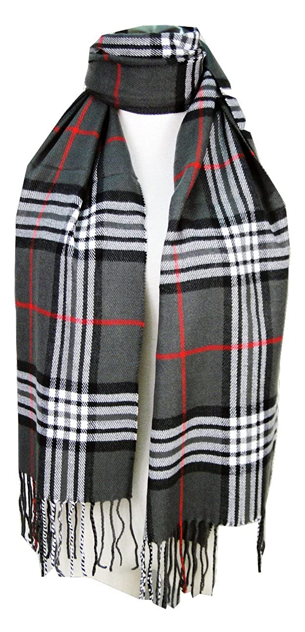 Tapp CollectionsTM Cashmere Feel Plaid and Check Tassel Ends Scarf