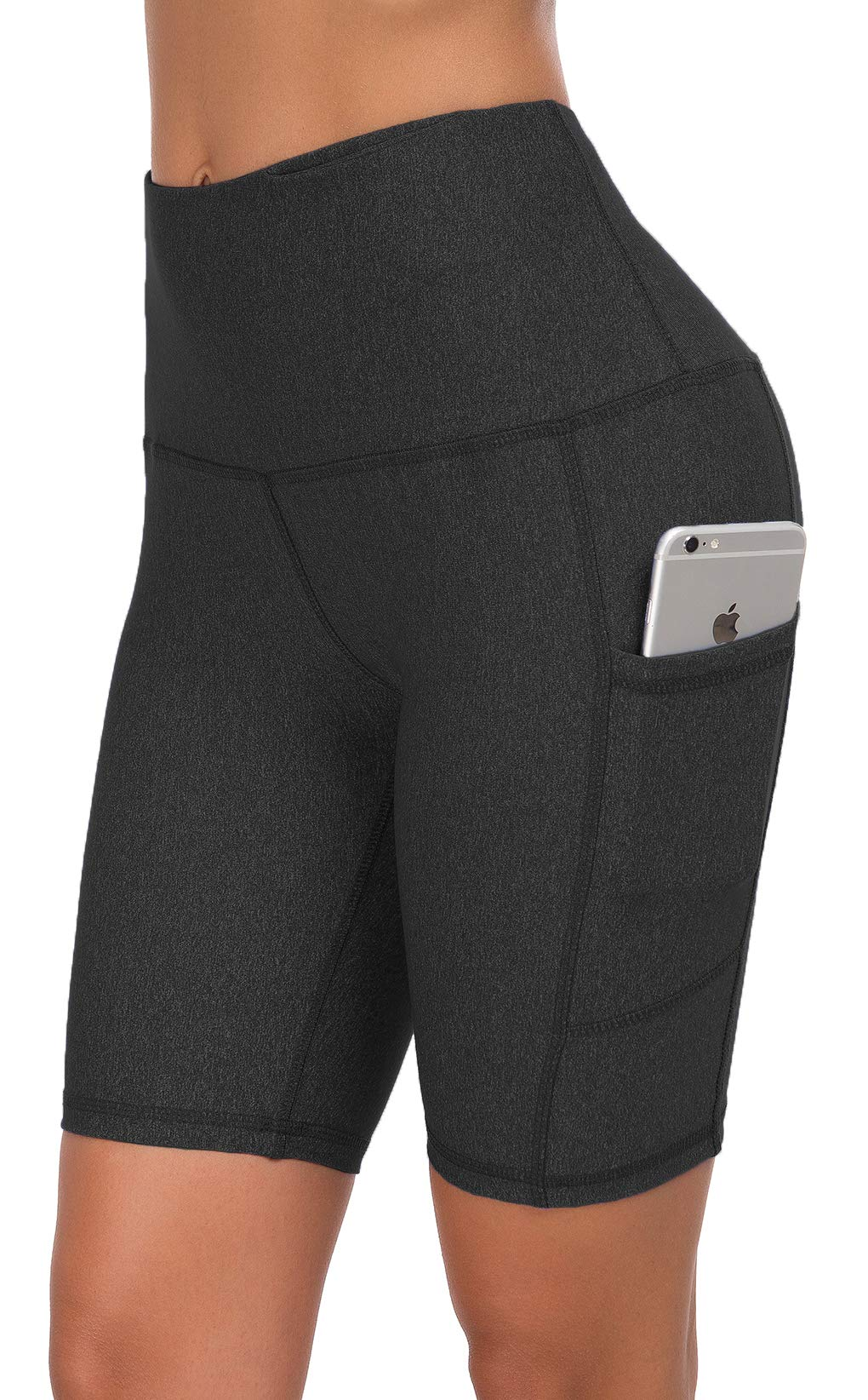 Custer's Night Premium Thick High Waist Tummy Compression Slimming Leggings Black Snow Dot S