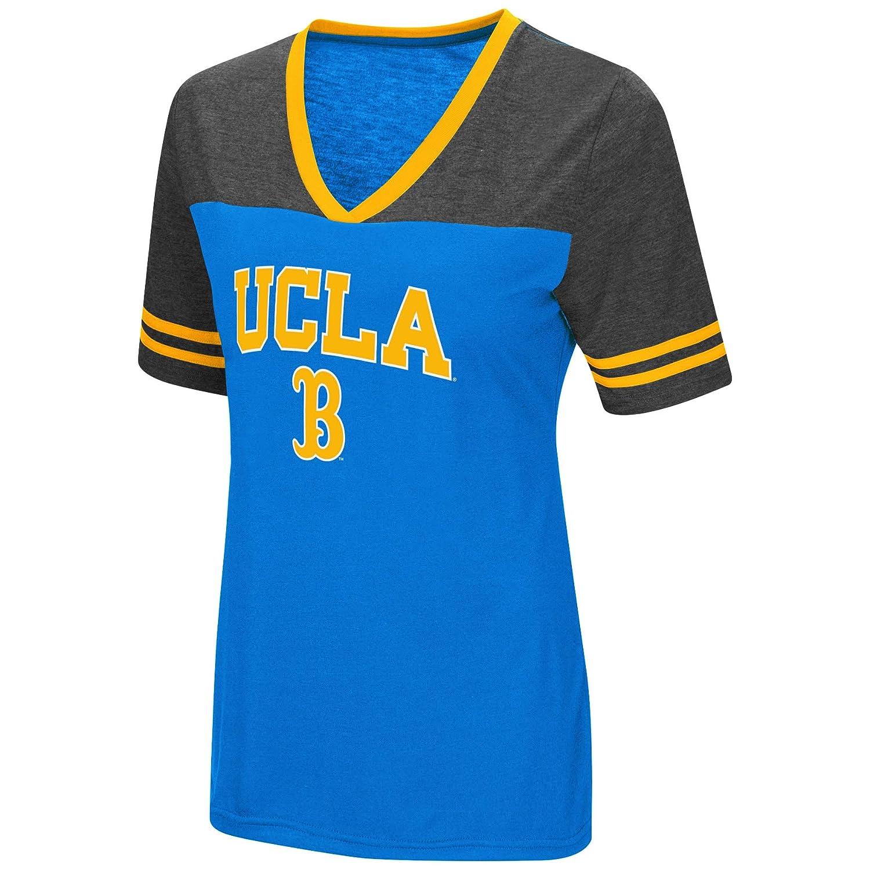 Colosseum Women's NCAA Varsity Jersey V Neck T Shirt