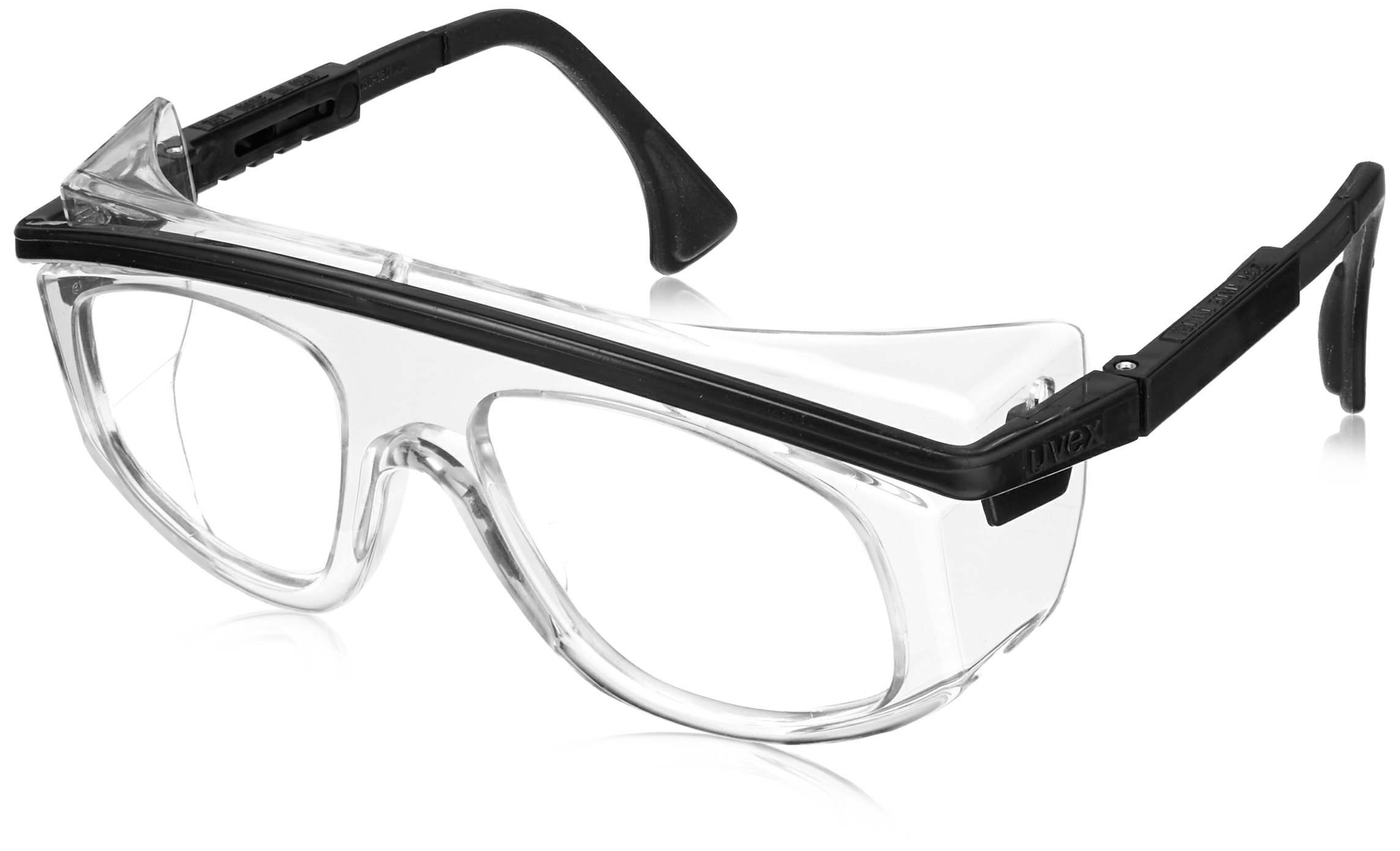Uvex S2570 Astro Rx 3003 Safety Eyewear, Black Frame, Clear Lens