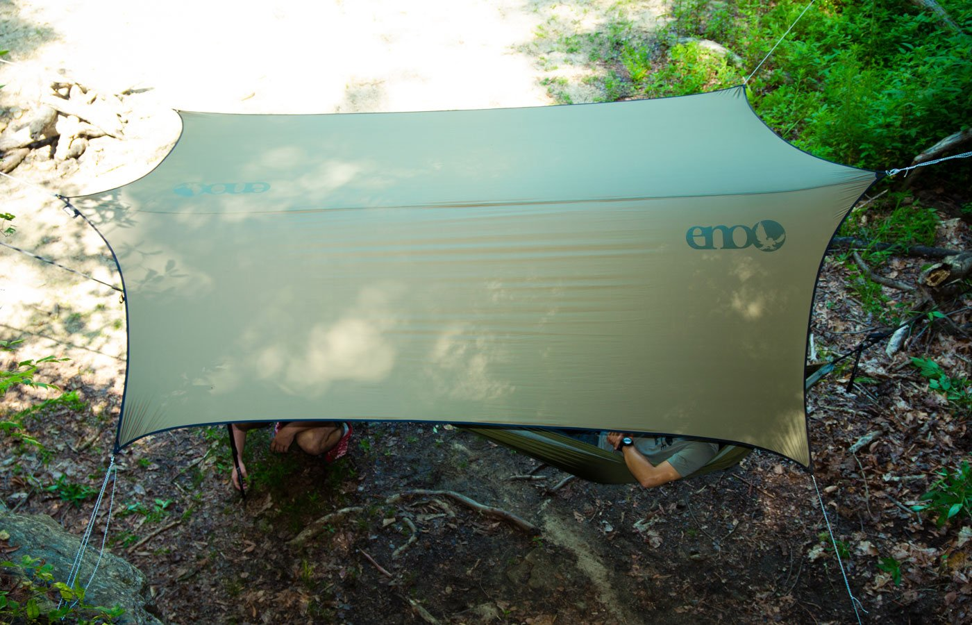 ENO Eagles Nest Outfitters - ProFly XL Sil Rain Tarp, Lichen by Eagles Nest Outfitters (Image #8)