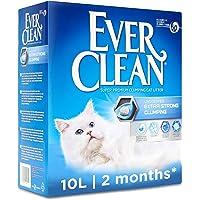 Ever Clean Bardzo mocny grubiący żwirek dla kota, 10 litrów, bezzapachowy
