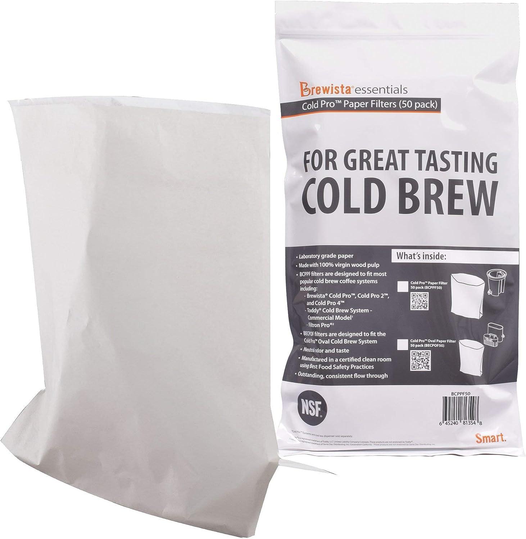 Brewista Cold Pro Original Paper Filter - 50 Pack (BCPPF50) 71nn6FFtI1L