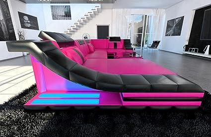 Divano Forma Rosa : Sofa dreams moderno divano angolare turino u forma rosa nero