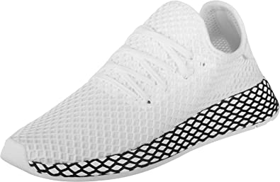 best website 53850 66cd2 Image Unavailable. Image not available for. Colour adidas Deerupt Runner  Trainers White 3 Child UK
