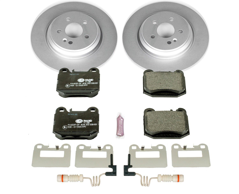 Power Stop ESK5261 Rear Euro-Stop Brake Kit