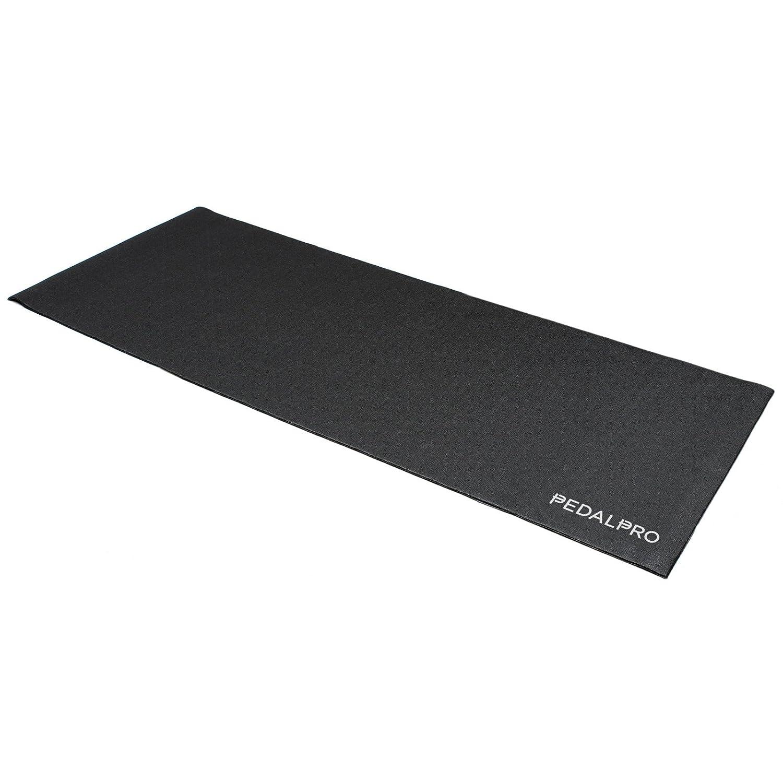 PedalPro Tapis Prot/ège Sol R/ésistant au Choc pour les V/élos D/'exercice