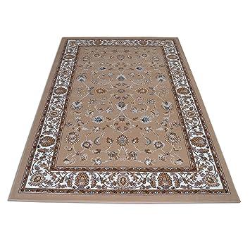 webtapis tapis pas cher tapis classique motif oriental persan royal shiraz 2079 beige 160x230 - Tapis Pas Cher