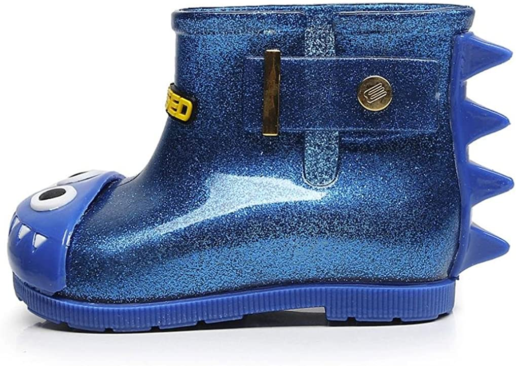 aged 0-1 years Muium Toddler Infant Baby Kids Boys Girls Waterproof Shoes Shark Rubber Rain Boots Rain Shoes For 1-6 Years Old 20 , Blue