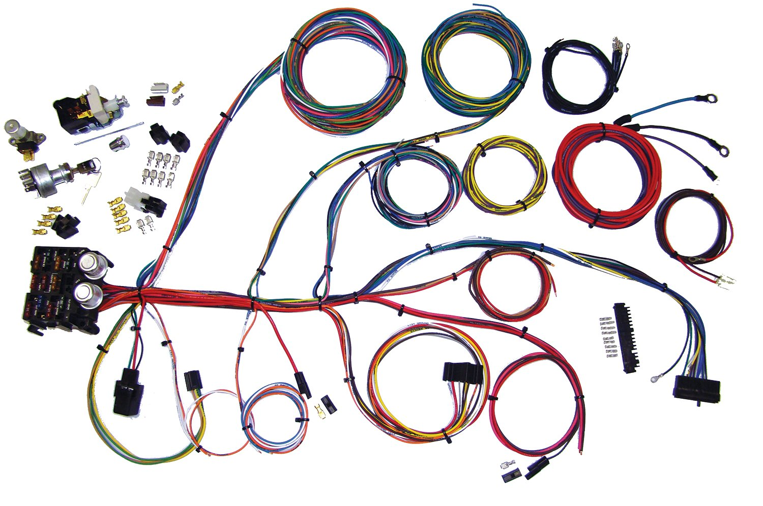 american autowire 510004 power plus 13 integrated fuse box system ...  online shopping in bermuda - desertcart