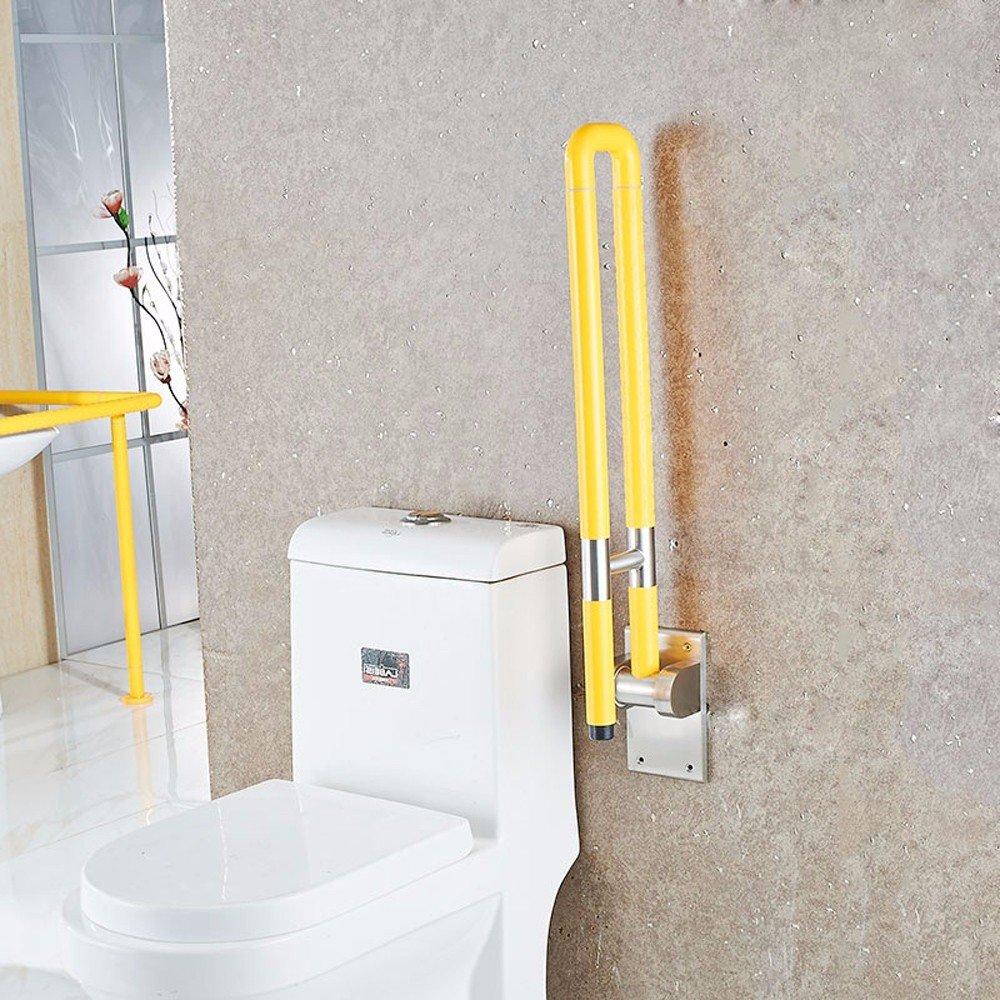 MDRW-Safety Handrail Anti Slip Barrier Folding Armrest Bathroom Handle Bathroom Bathroom Stainless Steel Handrail