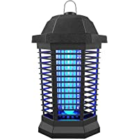 Bug Zapper, Electric Mosquito Zapper Outdoor, Insect Trap Indoor, Electronic Insect Killer for Garden Patio