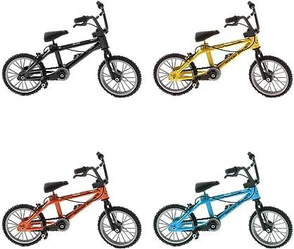 T TOOYFUL 4 Piezas Mini Gadget De Escritorio BMX Bicicleta ...