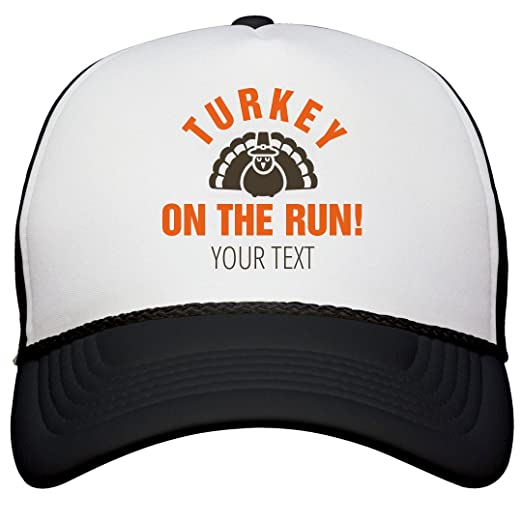 1b98e338e27aa Amazon.com  Turkey On The Run  Snapback Trucker Hat  Clothing