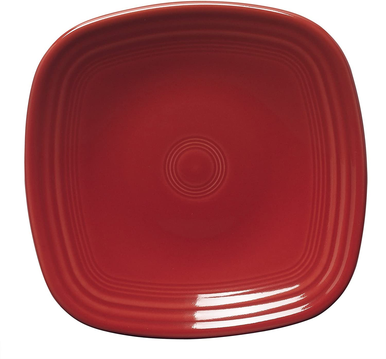 Homer Laughlin Fiesta Scarlet Red Salad Plate