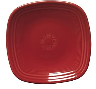 product image for Fiesta 7-3/8-Inch Square Salad Plate, Scarlet