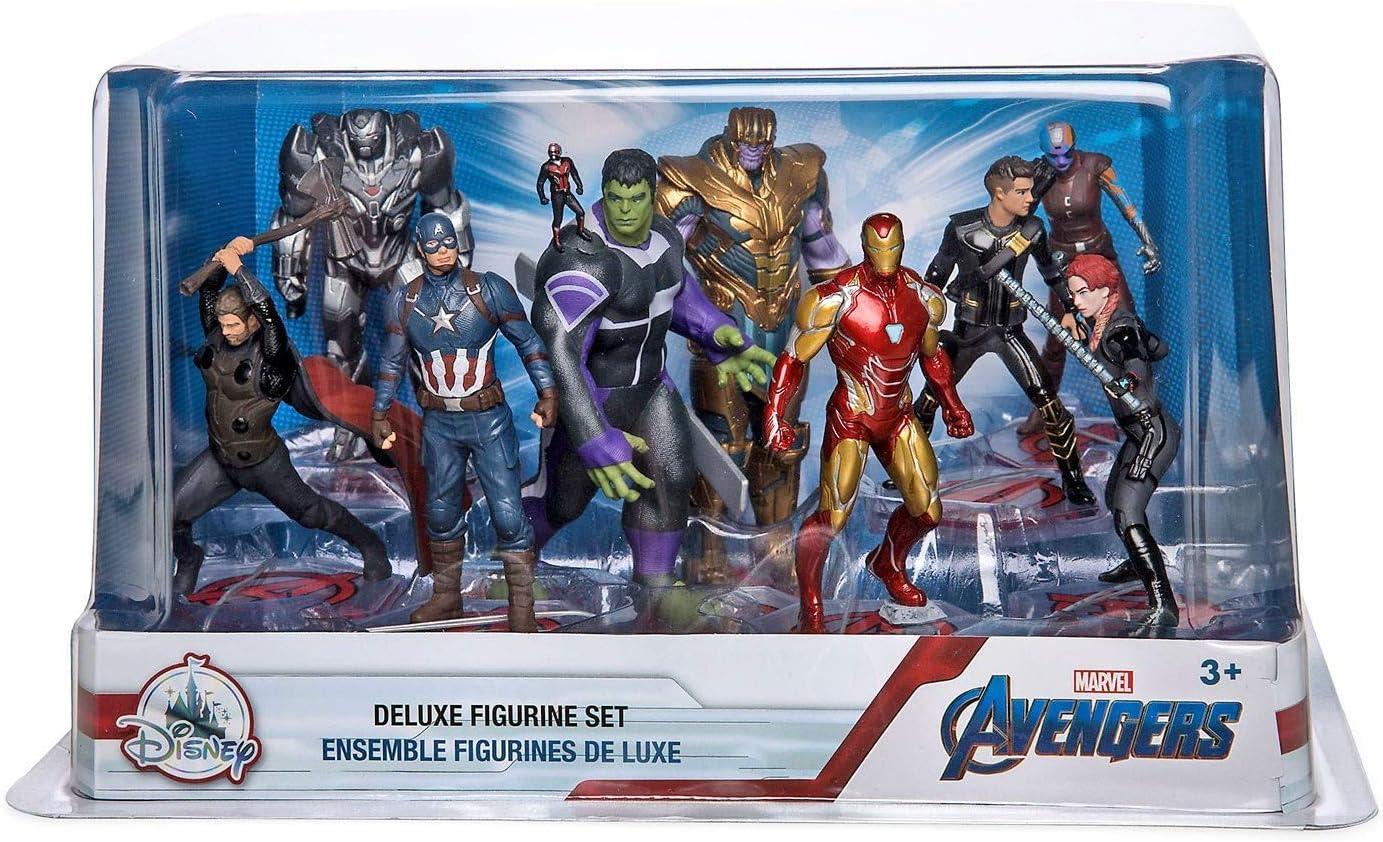 Marvel Avengers Action Set 5-Piece PVC Figure Play Set