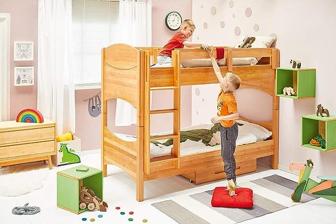 BioKinder - Das gesunde Kinderzimmer Litera para habitación Infantil con Escalera para Colgar.: Amazon.es: Hogar
