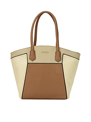 Addons panelled tote