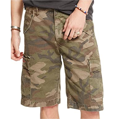 25575c70f Denim   Supply Ralph Lauren Men s Canvas Cargo Shorts (27)