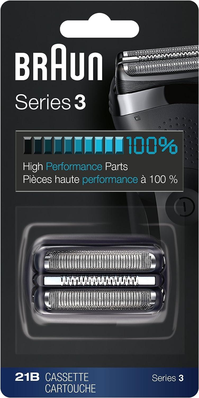 Braun Replacement for 21B Razor Razors Series 3Black