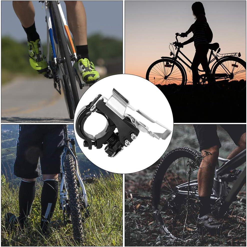 Front Derailleur Yevenr 3 Speed Bike Derailleur Durable Bicycle Derailleur Mountain Bike Derailleur Mountain Bicycle Derailleur Bicycle Accessory