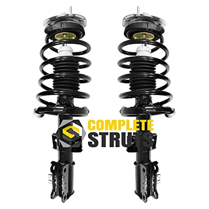 Front Quick Complete Struts & Coil Spring Assemblies Compatible with 2001-2009 Volvo S60 (