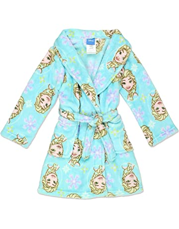 876e84458 Disney Frozen Elsa Toddler Girl's Fleece Bathrobe Robe