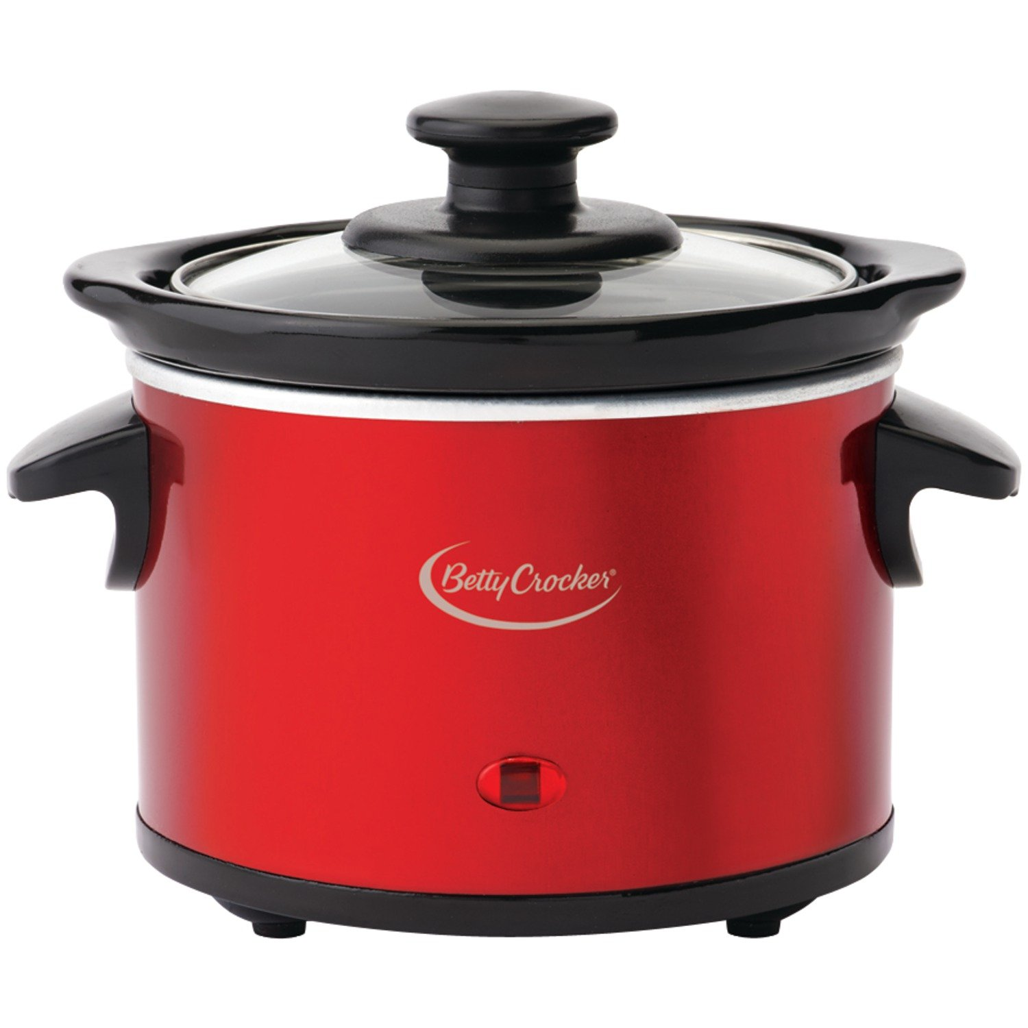 Betty Crocker BC-2555C Slow Cooker, Metallic Red