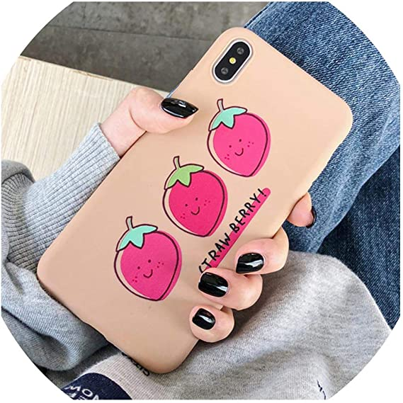 Cute For iPhone XR Case Fruit Cartoon