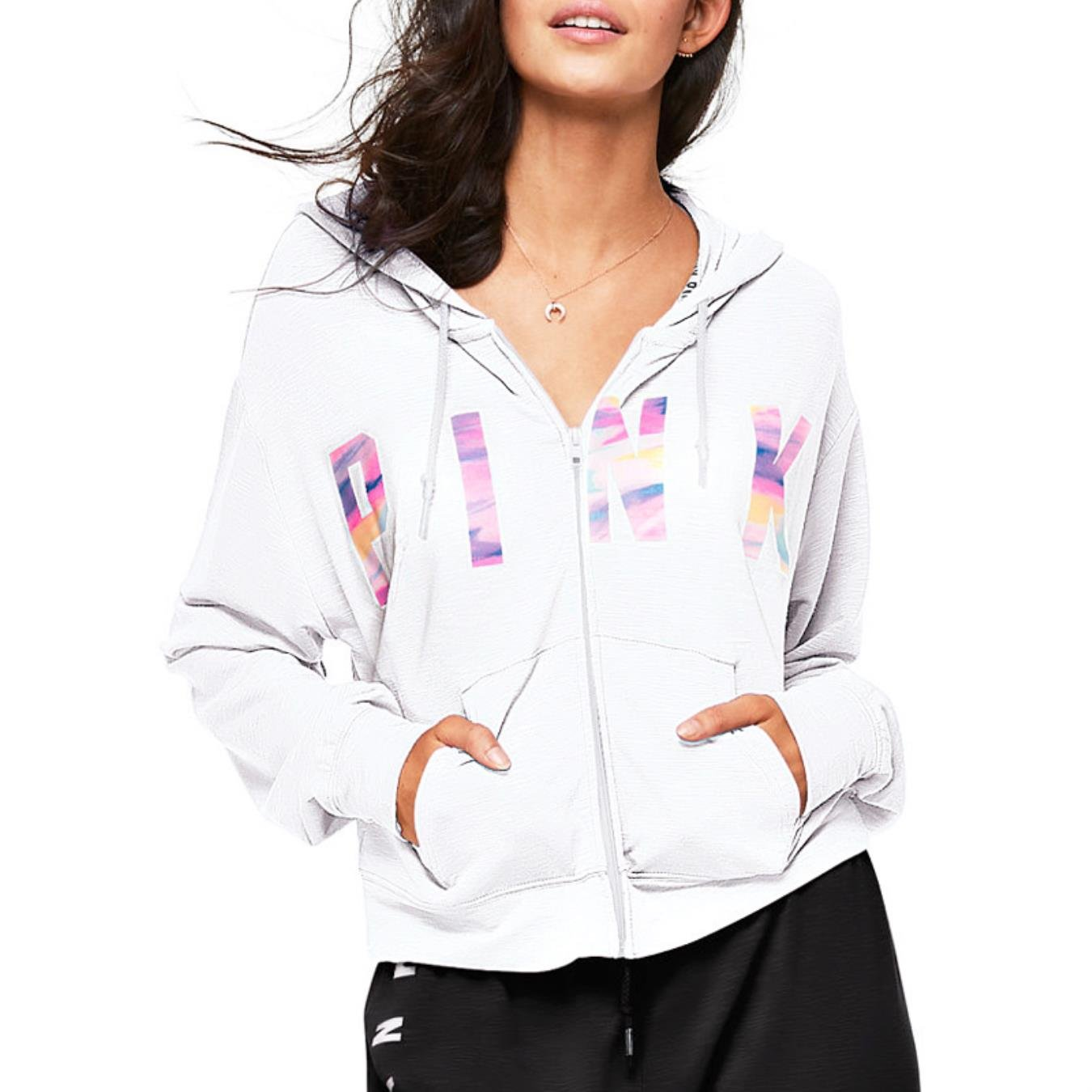 JESRKAS VS Love Pink Secret Hoodies Pullover Women Sweatshirt Tumblr Harajuku Moletom Felpe Sudaderas Truien Dames at Amazon Womens Clothing store: