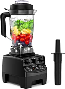 1450-Watt Professional Blender with 70 Oz Tritan Pitcher, High Speed Countertop Blender with 4 Blending Preset Programs and 8 Adjustable Speeds Control, Multifunctional Blender for Smoothie, Milkshake