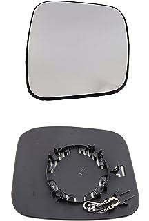 TarosTrade 57-0949-L-46213 Spiegelglas Heizbar Links