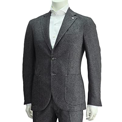 (エルビーエム) L.B.M.1911 メンズ 2つボタンシングルスーツ ネイビー 正規取扱店