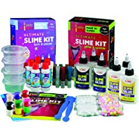 Yucky Science 41 Pieces Ultimate Slime Making Kit for Kids Combo Pack of 2 - Glitter & Sparkle. Unicorn & Fluffy. Make 30+ Slimes. Age 4 Years and Above (Multicolour)