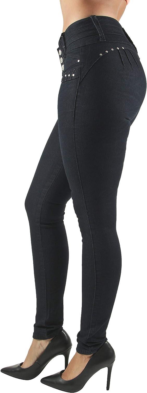 Plus//Junior Size Colombian Design High Waist Butt Lift Skinny Jeans