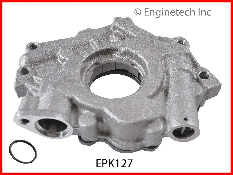 ENGINETECH EPK127 PRESSURE KING OIL PUMP compatible with 2003-2008 DODGE CHRYSLER JEEP 345 5.7L V8 HEMI