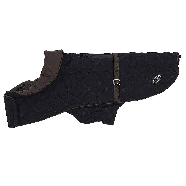 Black X-Small Black X-Small Kruuse Buster City Waterproof Dog Fashion Coat (X-Small) (Black)