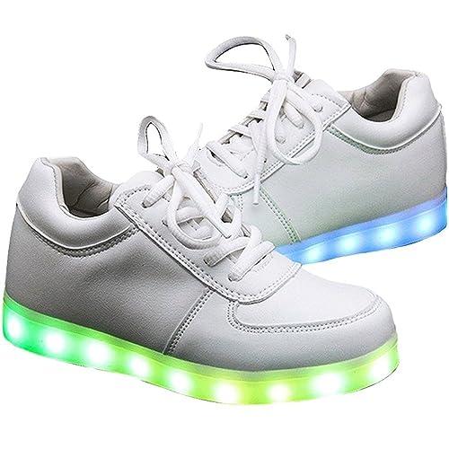 finest selection 82194 e57ce Numero Led 33 Con Scarpe Luci Bakaji Sneakers Shoes E9IYWDe2H