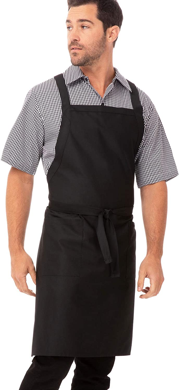 Chef Works Cross-Back Bib Apron