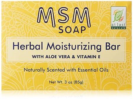 At Last Naturals Msm Herbal Bar 3 OZ 7 pack
