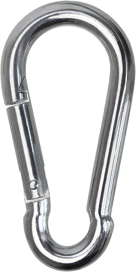 disponible en diff/érentes tailles BB Sport mousqueton carabine en acier galvanis/é DIN5299 Taille:50 x 5 mm