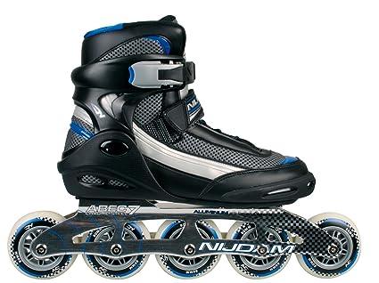 Nijdam 5-ruedas para patines en línea - Proline Negro negro Talla:41