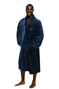 The Northwest Company Officially Licensed NFL Men's Silk Touch Lounge Robe, Multi Color