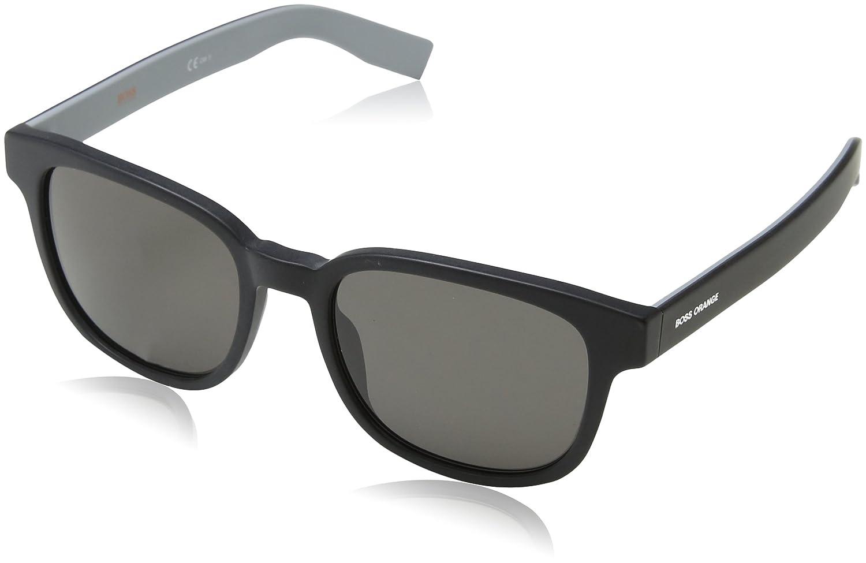 BOSS Orange 0193/S Nr Gafas de sol, Negro (Blk Hvnagrey/Brw Grey), 52 Unisex-Adulto