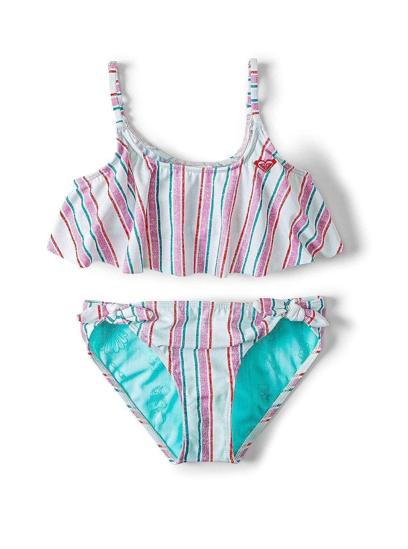 ROXY Girls Big Little Mermaid Treasure Stripe Flutter Set